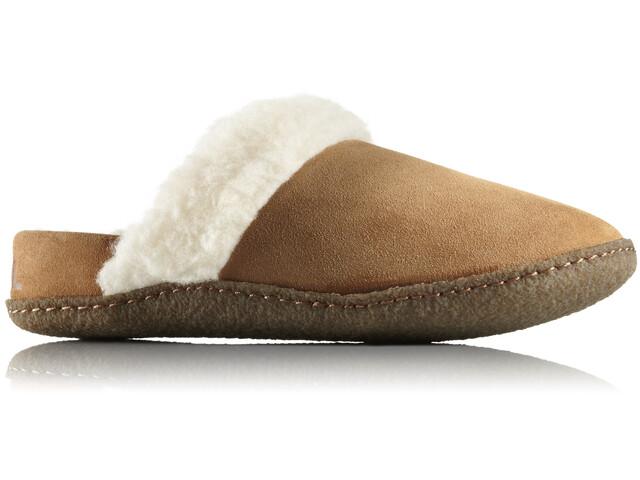 Sorel Nakiska Slide II Slippers Dame Camel Brown/Natural